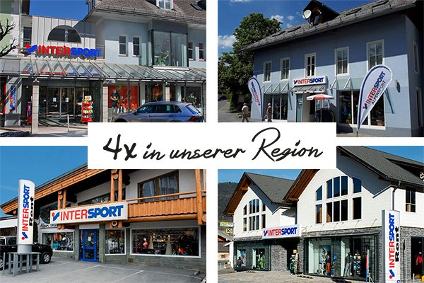 Intersport Alpensport - 4 x in unserer Region
